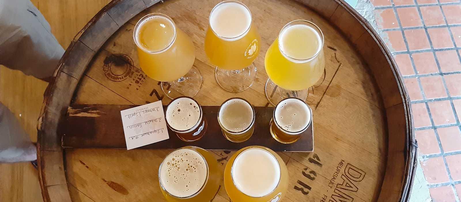 In der Devil's Club Brewing Company gibt es verschiedenste Biersorten