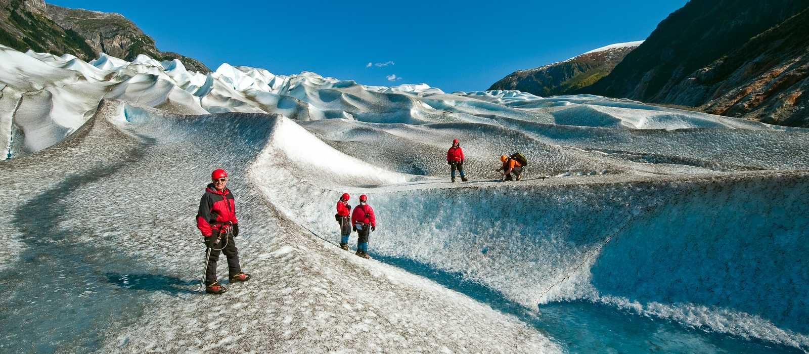 Juneau, Gilkey Glacier, Trekking