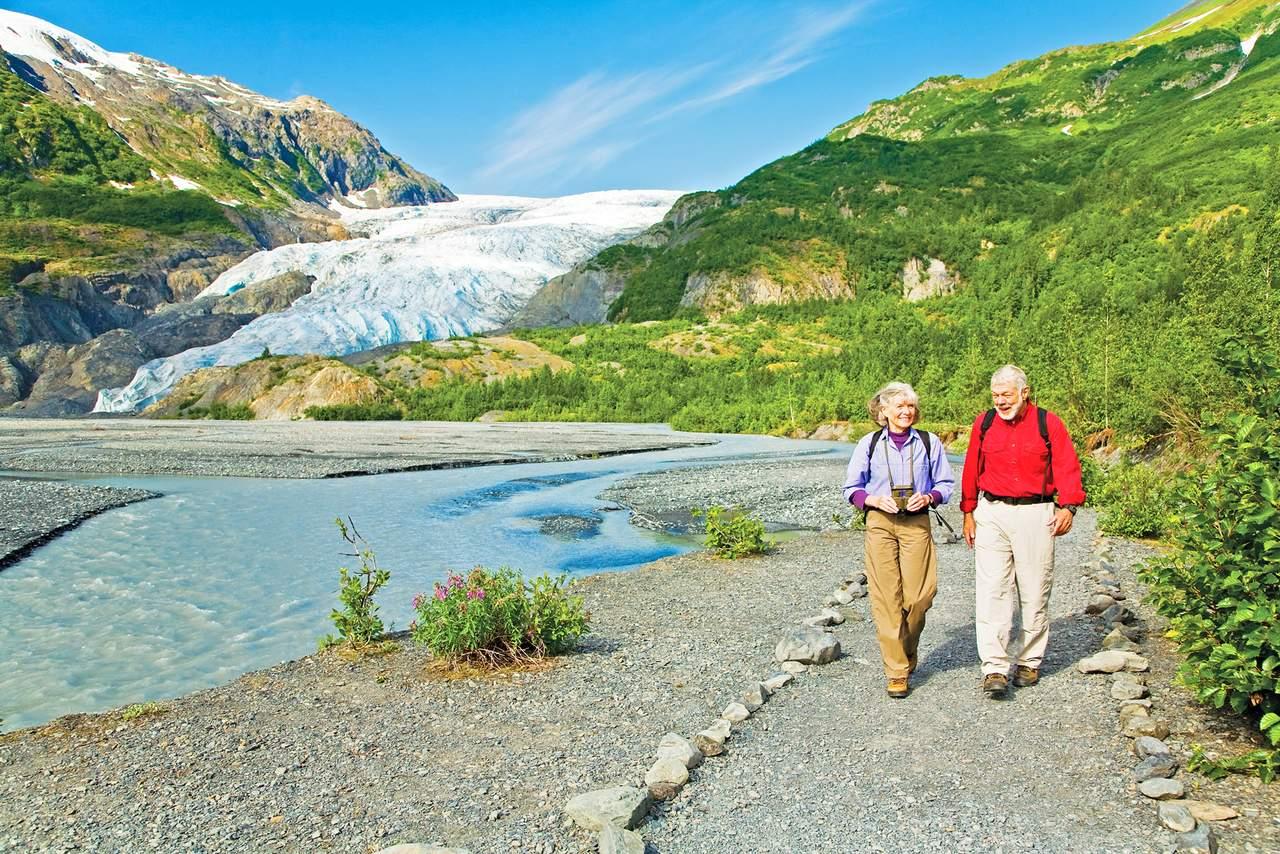 Exit Glacier bei Seward