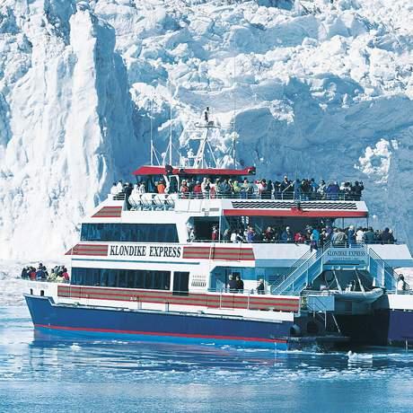 Klondike Express auf dem Prince William Sound