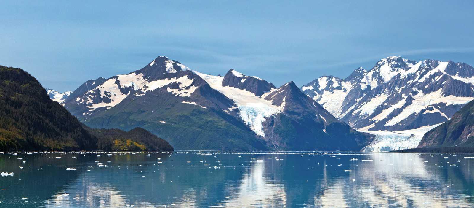 Eisschollen auf dem Prince William Sound, Alaska