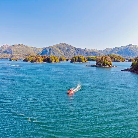 Boote im Sitka Sound
