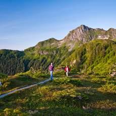 Wanderweg in Sitka, Alaska