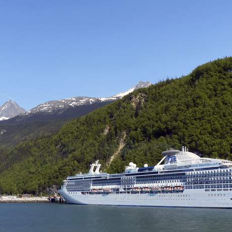 Princess Cruise in Skagway, Alaska