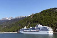 Alaska mit Auto und Schiff