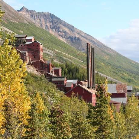 Alte Mine in Kennicott