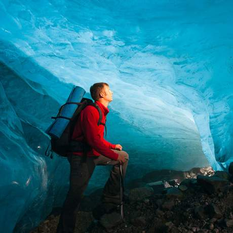Wrangell-St.Elias Nationalpark: Wanderung unterhalb des Root Glacier