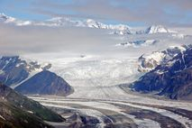 Alaska Nationalparks: Blick auf den Kennicott Gletscher