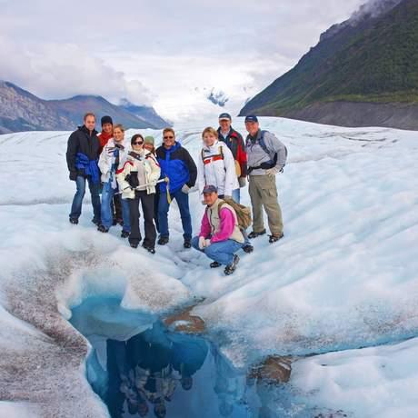 Root Gletscher Wanderung
