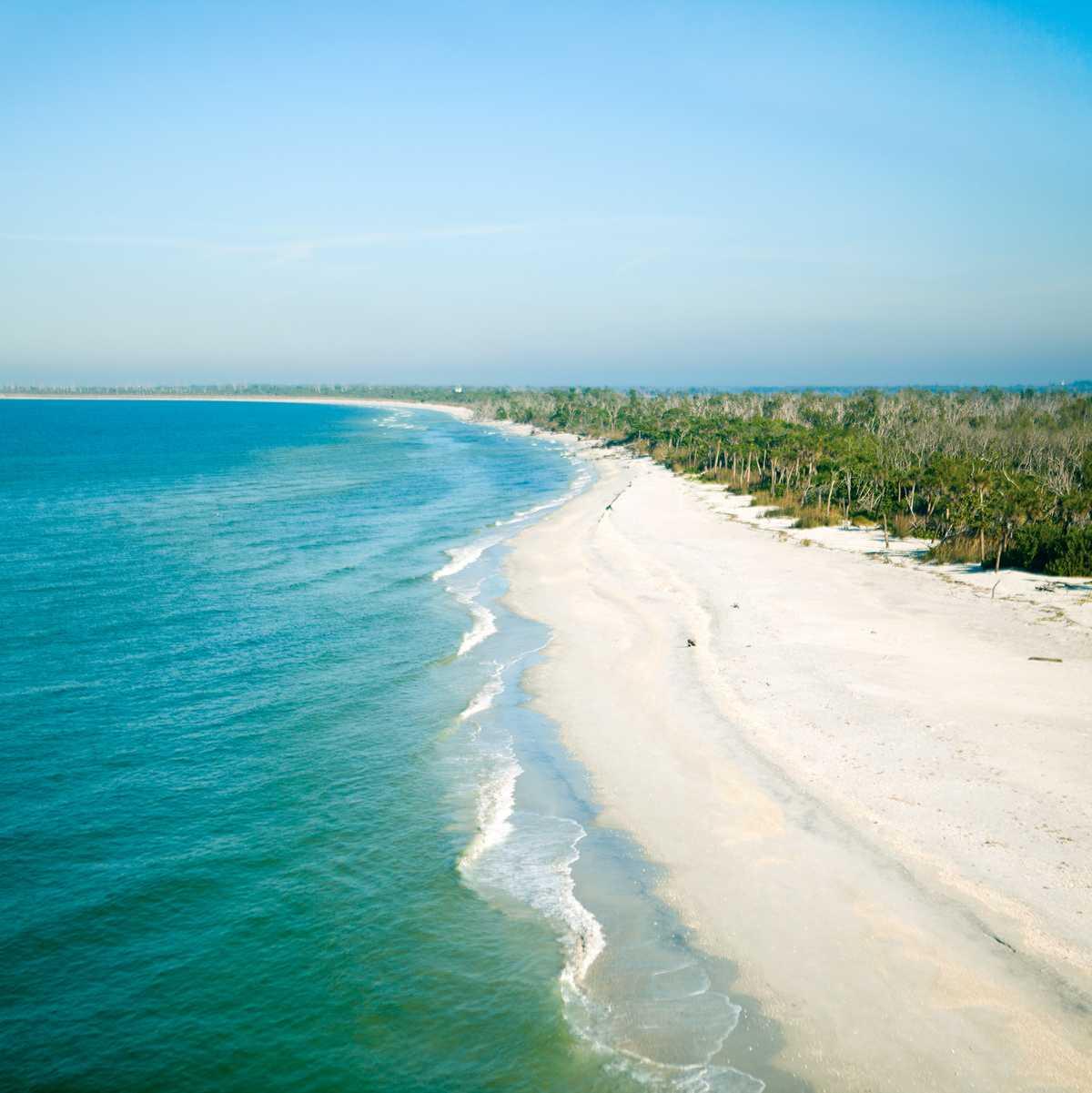 Der Bowman's Beach auf Sanibel Island in Florida