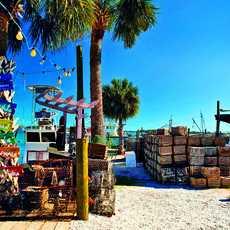 Cortez am Sarasota Bay in Manatee County - das letzte verbleibende Fischerdorf an Florida's Sonnenküste