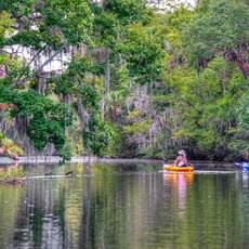 Outdoor Adventures auf dem Halifax River in Florida