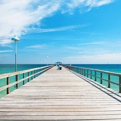 Anglin's Fishing Pier in Fort Lauderdale, Florida