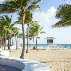 Playbook Beach in Fort Lauderdale, Florida