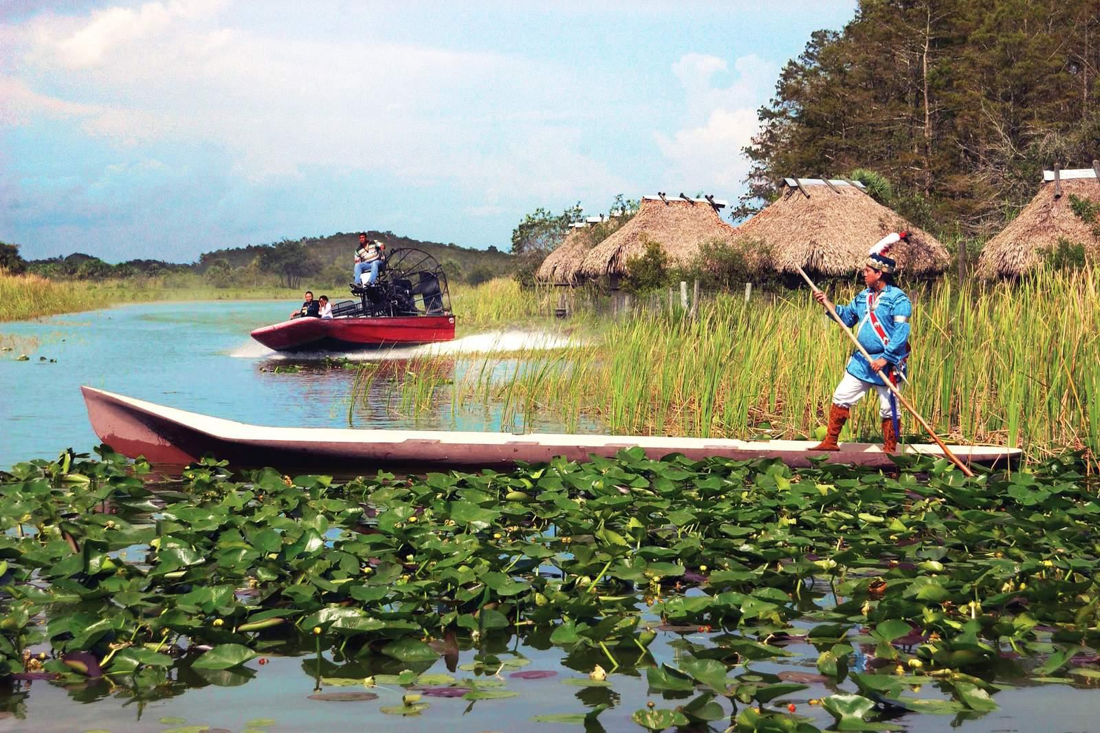 Seminole Indianer in Fort Lauderdale, Florida