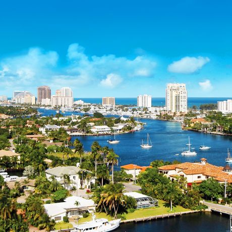 Skyline von Fort Lauderdale, Florida