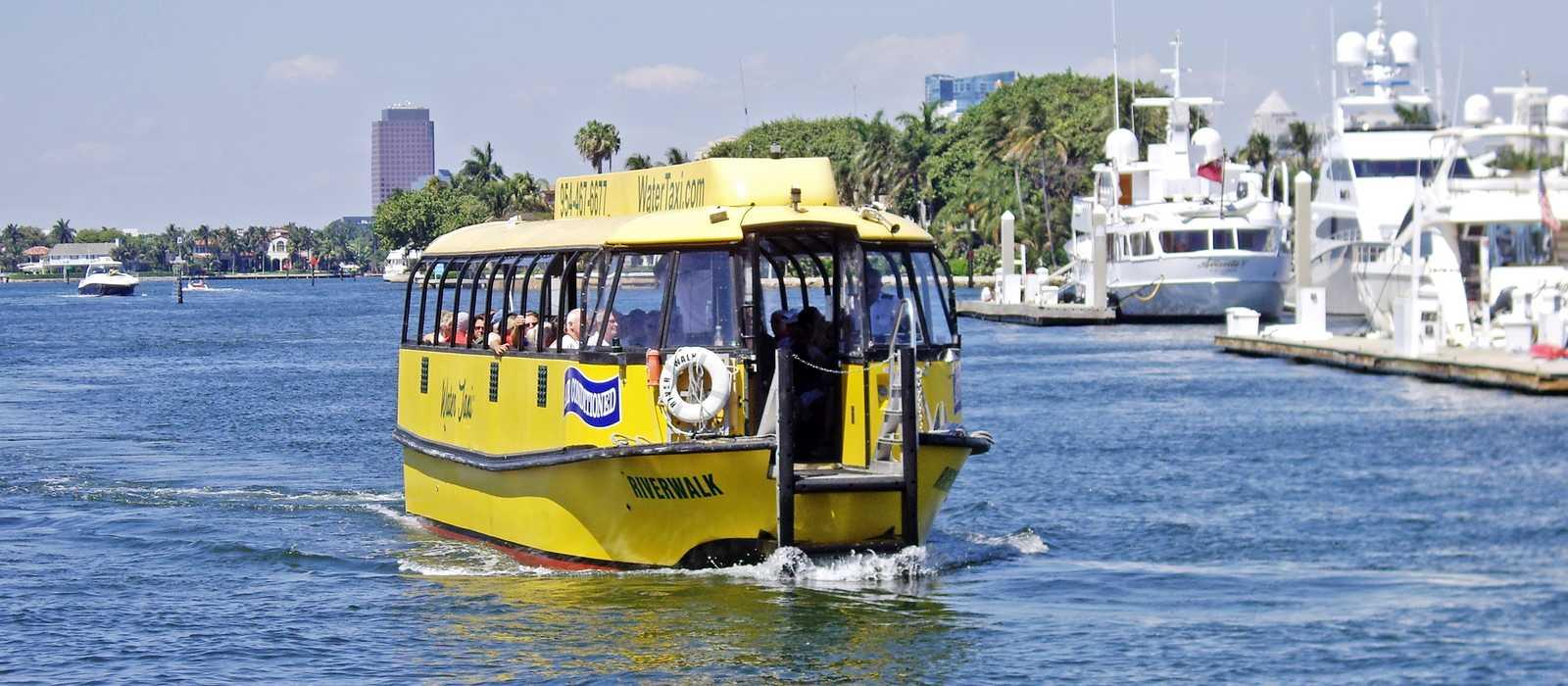 Wassertaxi Fort Lauderdale
