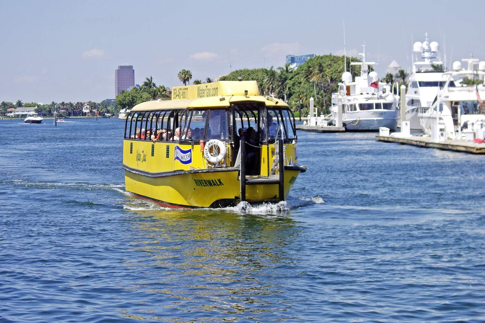 Wassertaxi in Fort Lauderdale