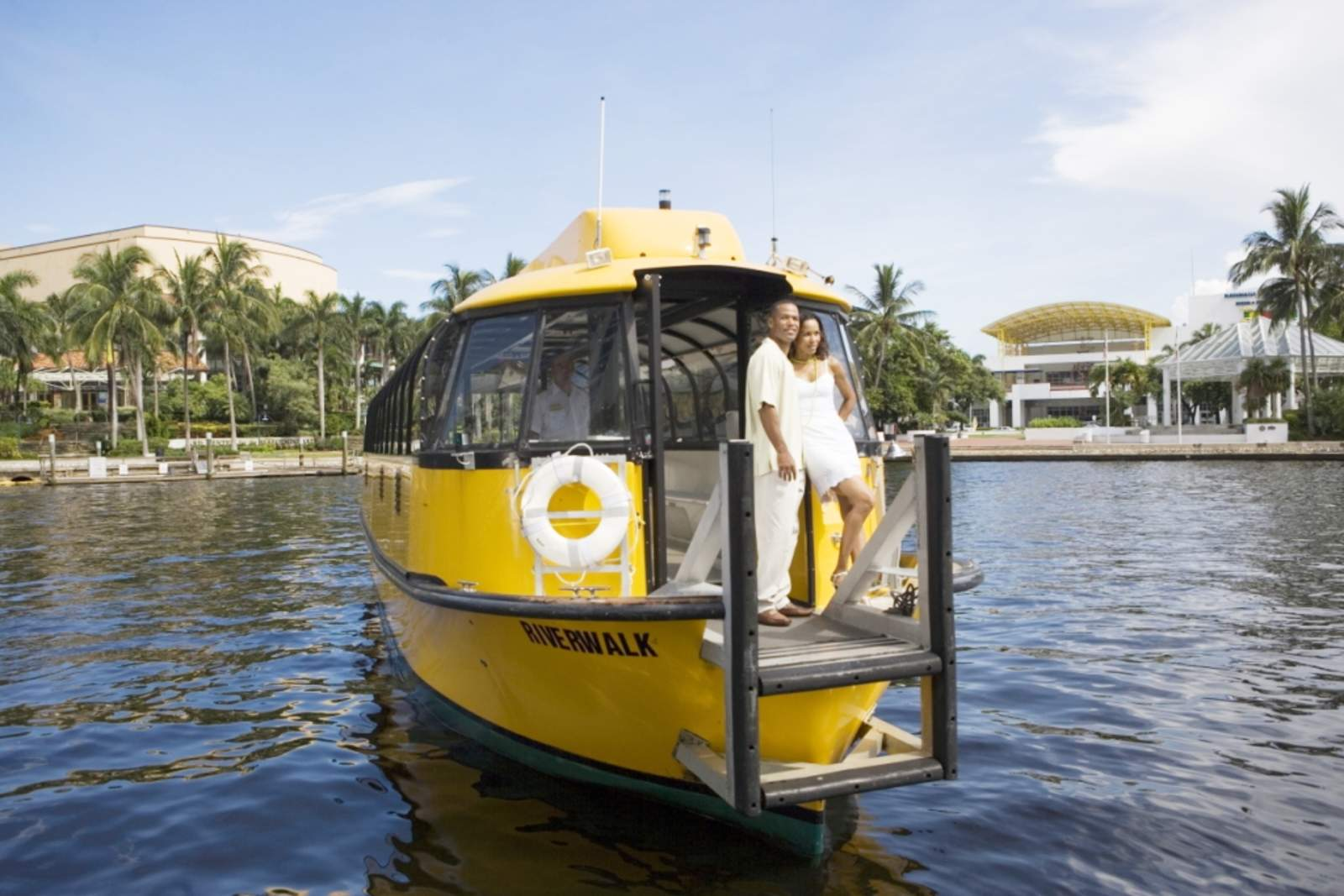 Mit dem Wassertaxi Fort Lauderdale entdecken