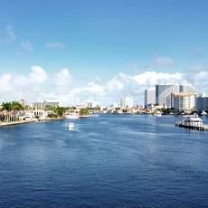 Waterways in Fort Lauderdale, Florida