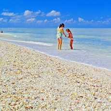 Strandleben auf Sanibel Island