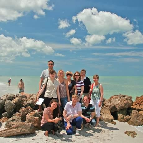 CANUSA-Fam auf Marco Island