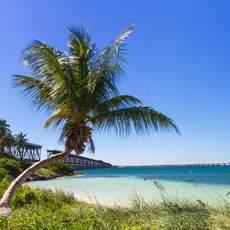 Landschaft am Bahia Honda Beach, Florida Keys, Florida