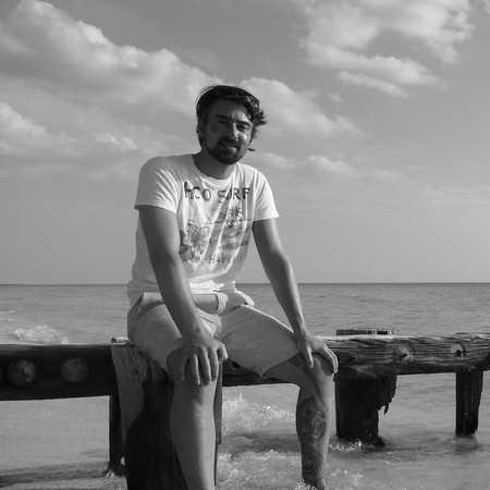Kolja am Strand von Key Largo