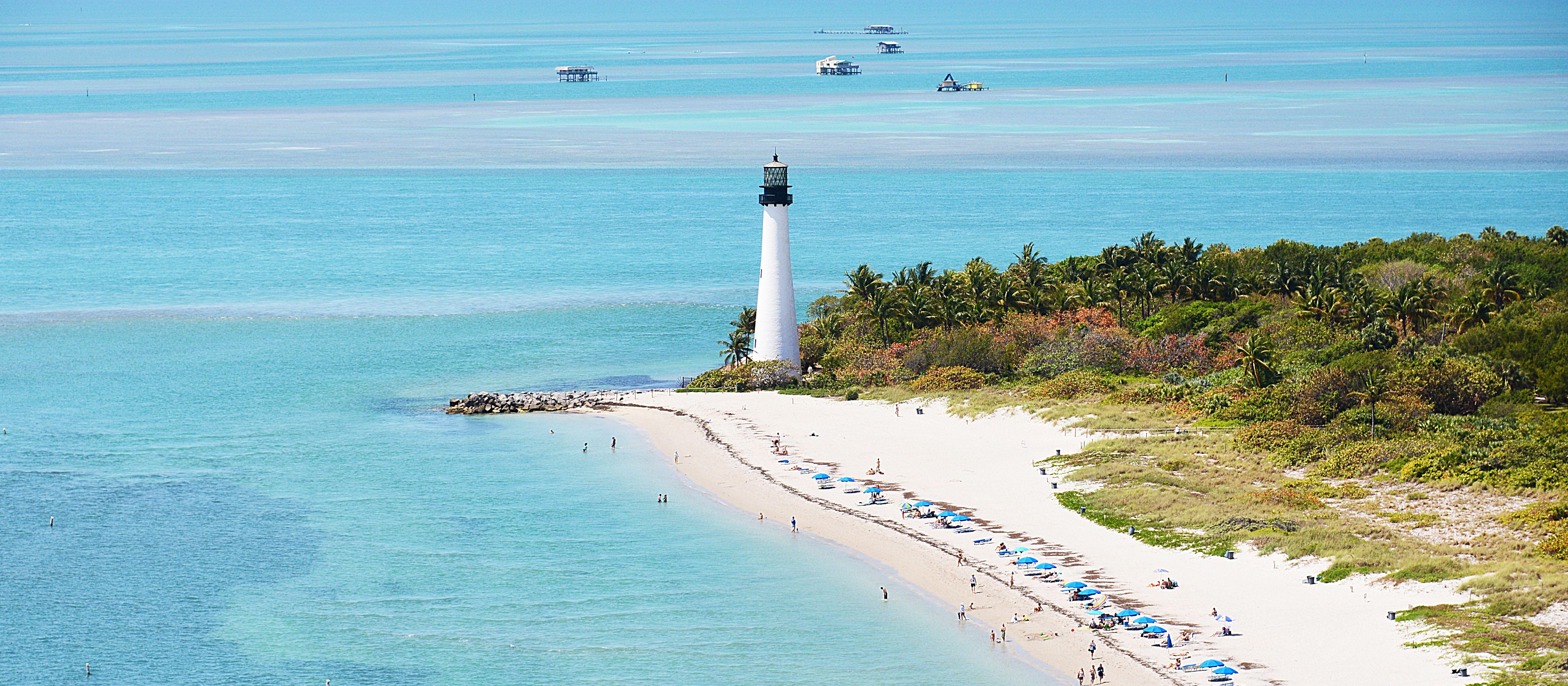 Leuchtturm im Bill Baggs Cape Florida State Park