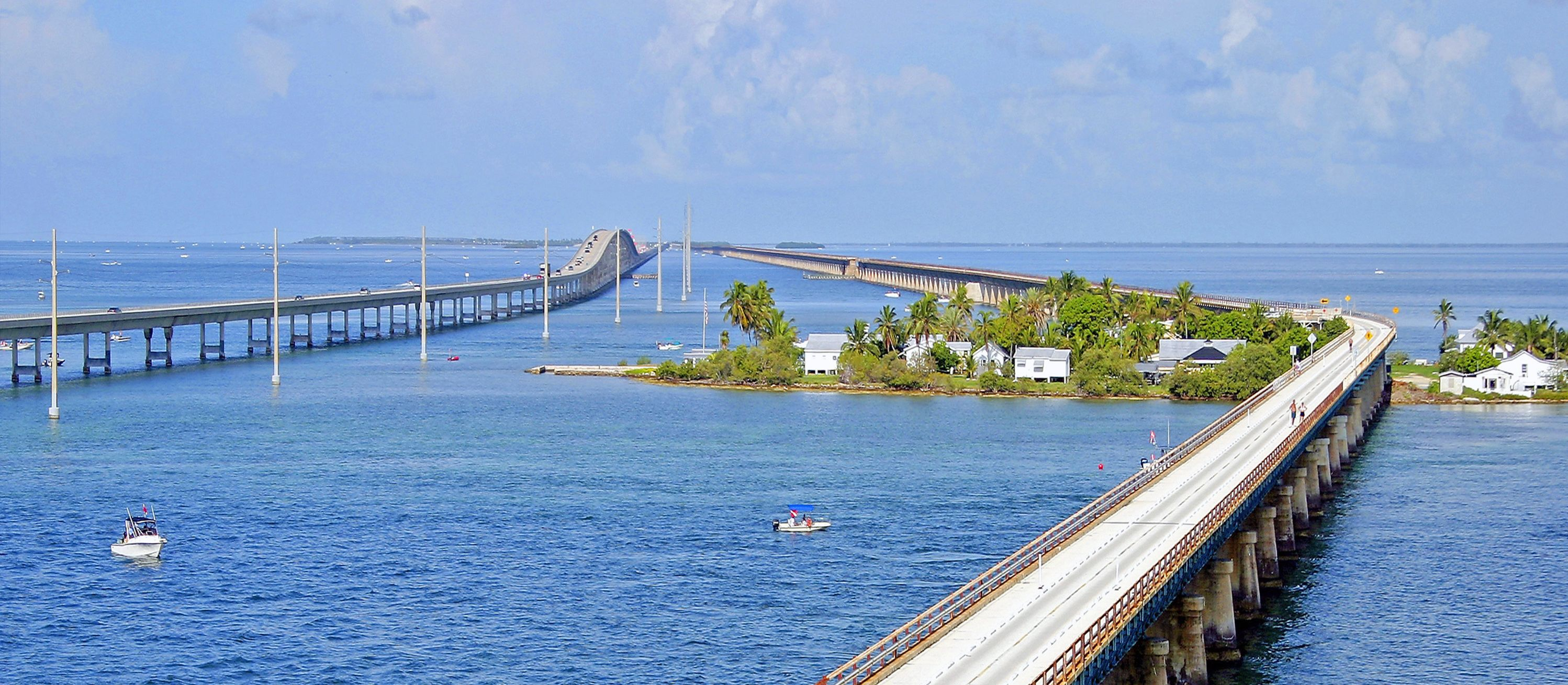 Seven Mile Bridge bei Pigeon Key