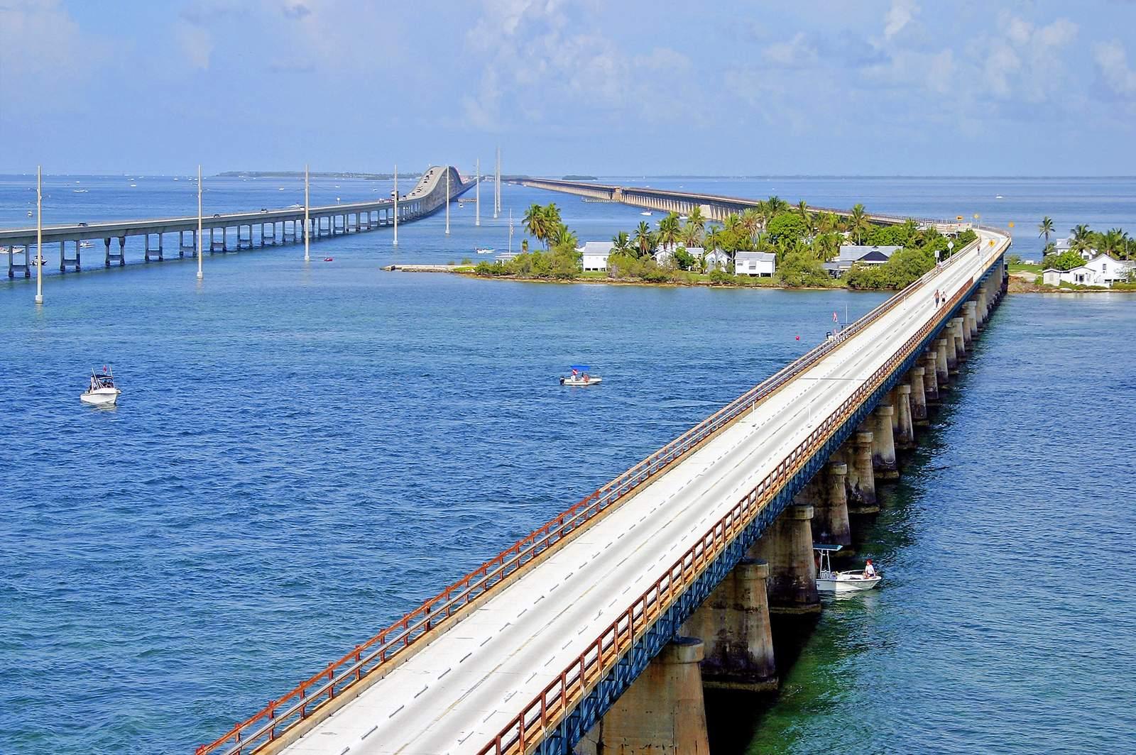 Seven Mile Bridge bei Pigeon Key