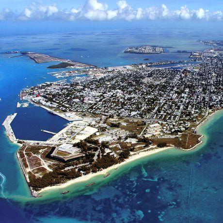 Blick auf Key West