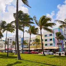 Miami Beach Boulevard, Art Deco District, Florida