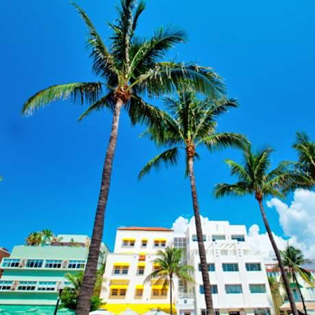 Im Art-Deco-Viertel von Miami