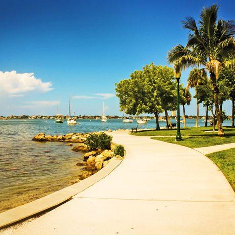 Bayfront Park in Miami, Florida