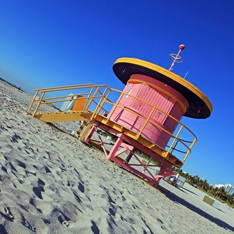 Strandpavillon Miami Beach