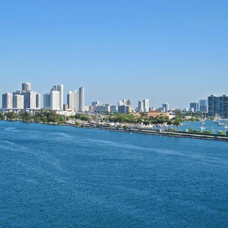 Miami Luftaufnahme