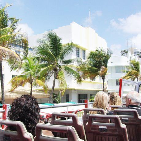 Stadtrundfahrt auf dem Ocean Drive, Miami