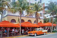 Der Ocean Drive in Miami Urlaub