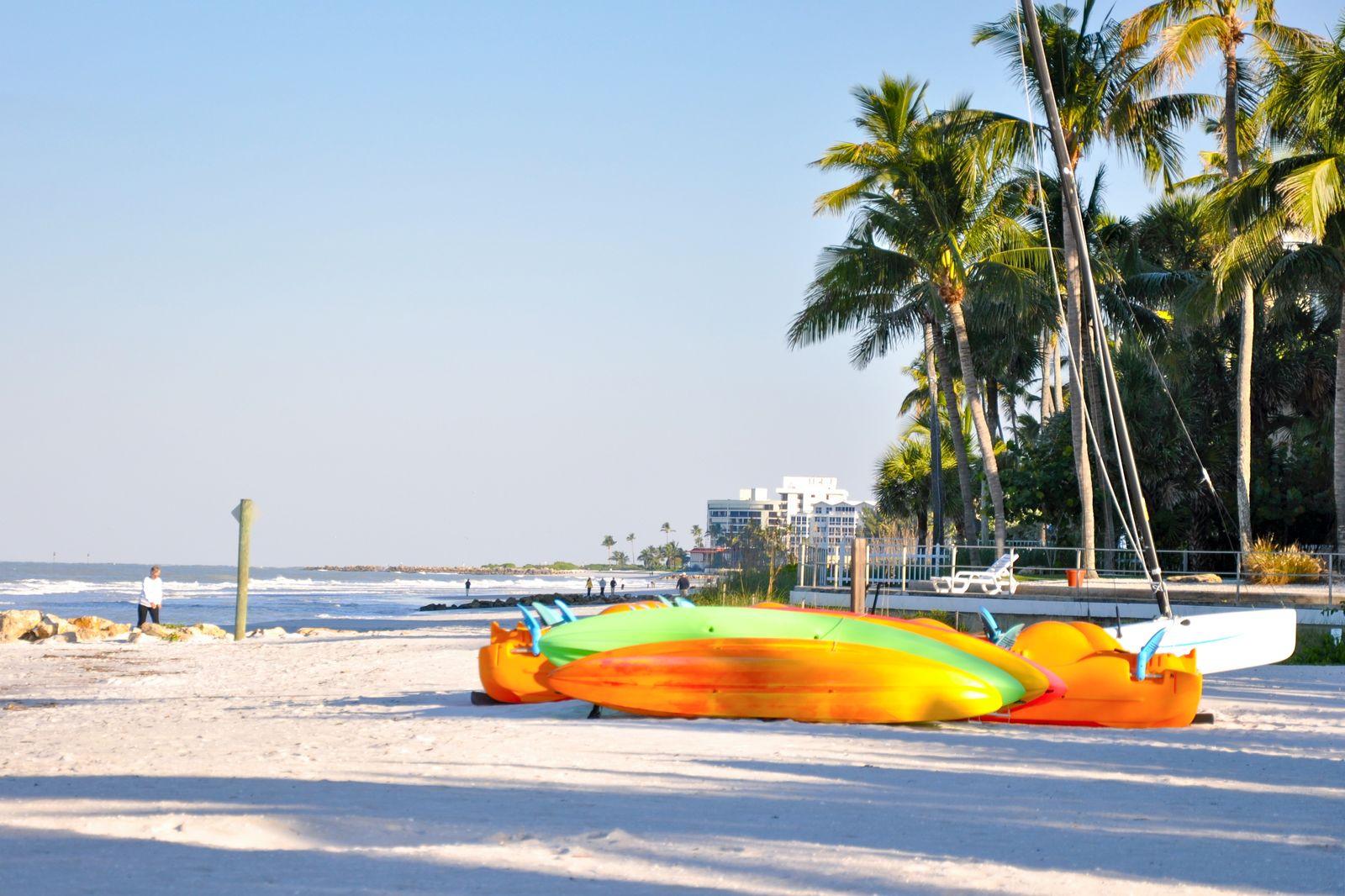 Entspannung am Golf von Mexiko