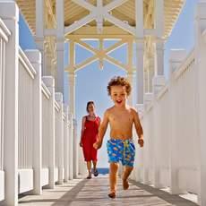 Am Gulfside Boardwalk