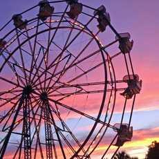 Das Ferris Wheel auf dem Miracle Strip