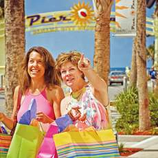 Shopping-Spass im Pier Park