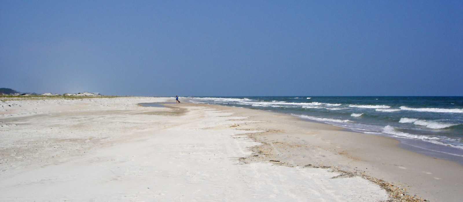 Strand auf St. George Island