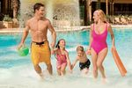 Familie im Pool in Orlando