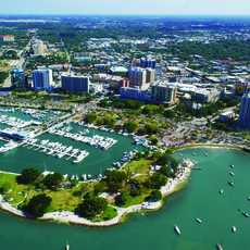 Sarasota Aerial Marina