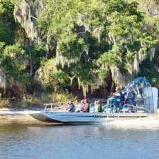 Fahrt mit dem Airboat auf dem St. John´s River