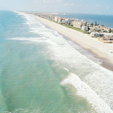Strand an der Space Coast