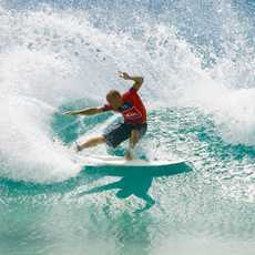 Surfing. Tuesday, 6 March, 2007. Quiksilver Pro, February 26 - March 11. Snapper Rocks, Gold Coast, Queensland. Australia. Kelly Slater (Cocoa Beach, Florida, USA) (pictured) took revenge in round three of Quiksilver Pro held at Snapper Rocks on the Australian Gold Coast today. Slater, the current and 8 X Fosters ASP World Champion, eliminated Julian Wilson (Australia) from the event sending him home in equal 17th position. The World Champion was forced to surf round two, very uncommon for Kelly Slater, after Wilson defeated him in round one when competition started. Slater exacted his revenge with a near perfect heat score of 19.83 (out of a possible 20) when he score a perfect 10 and a 8.50. Slater faces South African Greg Emslie in round four. The US$300 000 Quiksilver Pro kick starts the annual Association of Surfing Professionals MenÕs FosterÕs World Tour. Kelly Slater (USA) is the defending champion. Photo Credit : ASP © Covered Images Photographer : Steve Robertson All images royalty free for newspapers and websites when covering the event for news/sport. Copyright remains with Covered Images, sale or licensing to third parties is prohibited. Regards Kelly Cestari (Mr.) Digital Imaging www.coveredimages.com www.tostee.com kelly@coveredimages.com +27 83 290 8223 +27 72 634 6324