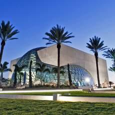Blick auf das Salvador-Dali-Museum